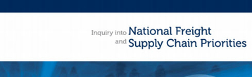 National Freight and Supply Chain Priorities Report